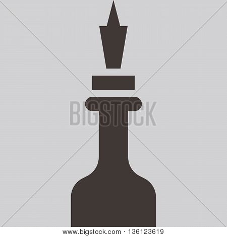 Silhouette of a chess piece - chess queen