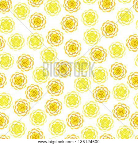 The background cartoon sun. Background pattern of a spiral sun. Abstract background of the sun.