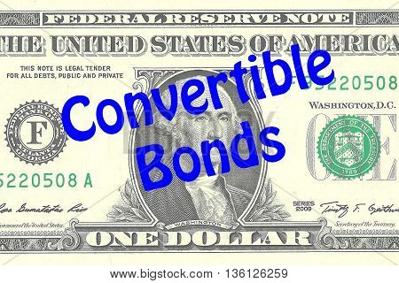 Convertible Bonds Business Concept