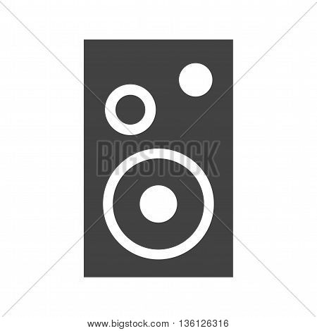 Speaker, audio, music icon vector image. Can also be used for music. Suitable for web apps, mobile apps and print media.