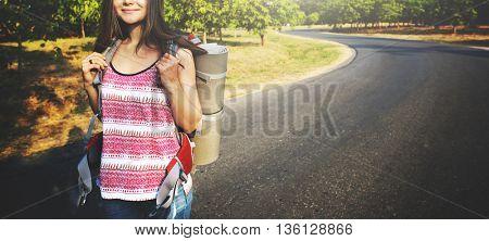 Wanderlust Pigeon Traveler Lifestyle Nature Trip Concept