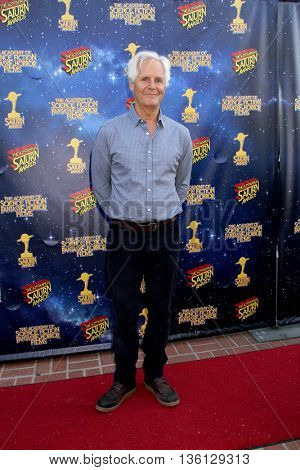 Chris Carter arrives at the 42nd Annual Saturn Awards on Wednesday, June 22, 2016 at the Castaway Restaurant in Burbank, CA.
