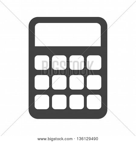 Calculations, business, profit icon vector image.Can also be used for shopping. Suitable for web apps, mobile apps and print media.