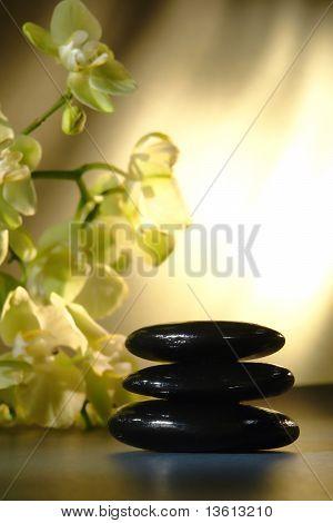 Polished Hot Massage Stones Cairn
