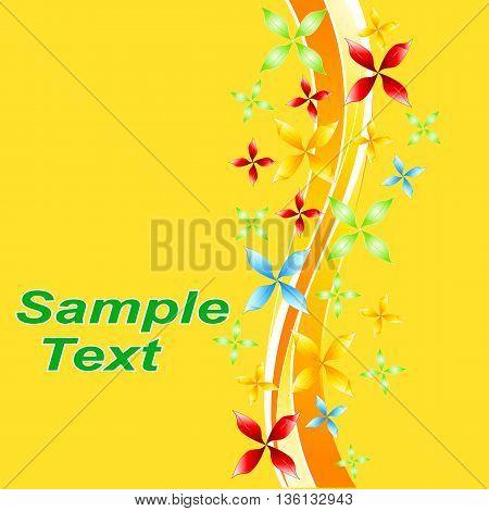 Flora pattern decorative decoration background flower vector leaf wallpaper illustration.
