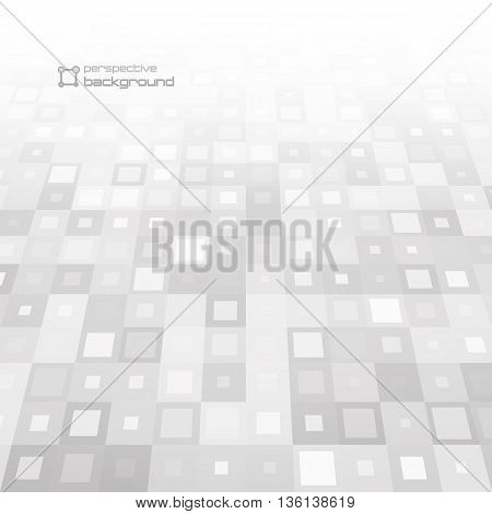 Abstract perspective background. Vector illustration. Used for your modern design.