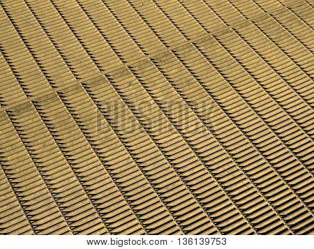 Stainless Steel Grid Mesh Sepia