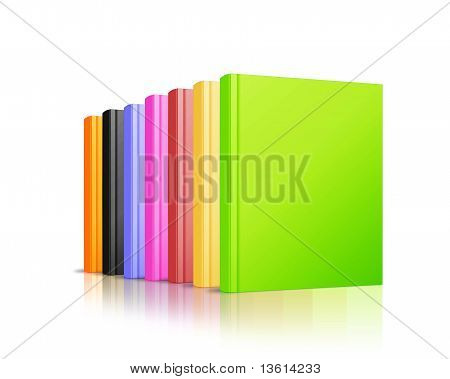 Stock Of Colorated Book