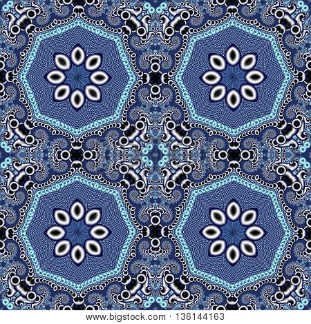 Seamless openwork pattern. You can use it for invitations carpets covers phone case postcards cards lacy napkin. Artwork for creative design art and entertainment.
