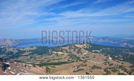 Crater Lake, Mount Scott Viewpoint