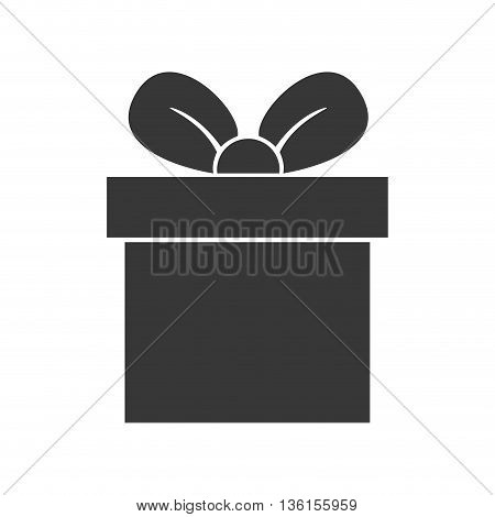 Party and celebration concept represented by gift icon. isolated and flat illustration