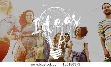 Idea Brainstorm Creative Planning Success Concept