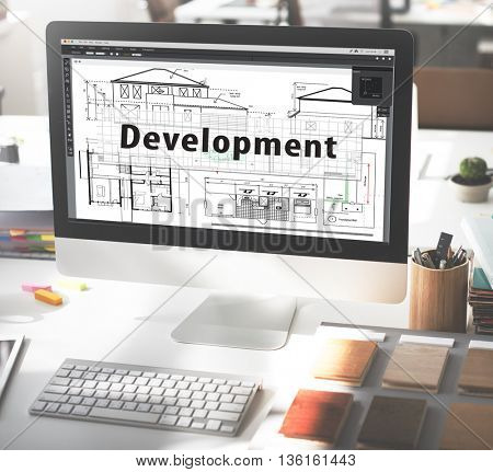 Design Construct Drawing Exterior Development Concept
