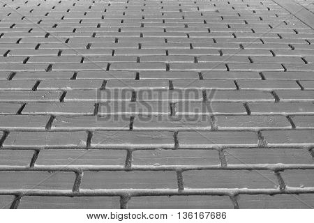 pattern of black brick wall texture, background