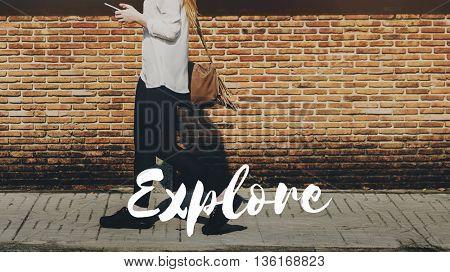 Journey Travel Escape Explore Discover Concept