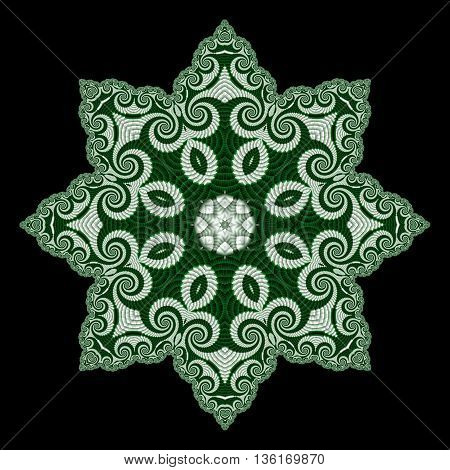 Abstract openwork background with circle ornament. You can use it for invitations carpets covers phone cases postcards cards lacy napkin. Artwork for creative design.