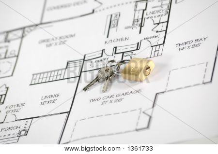 Seguridad y seguro de la casa