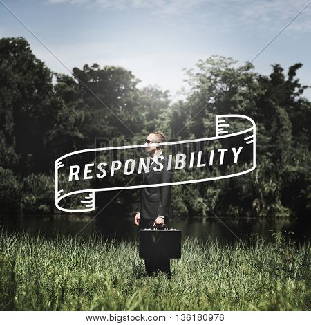 Responsibility Duty Job Roles Trust Work Task Concept