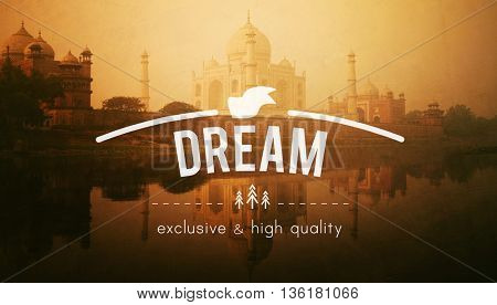Dream Aspiration Believe Goal Imagination Concept