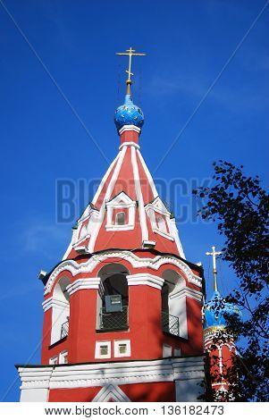 Church Dmitry on the Blood in Uglich Kremlin, Russia