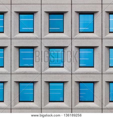 windows in a public building in New York