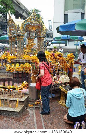 Erawan Shrine, Hindu Shrine In Bangkok