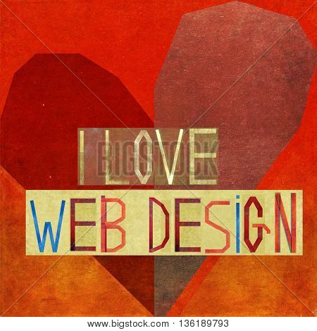 I love web design