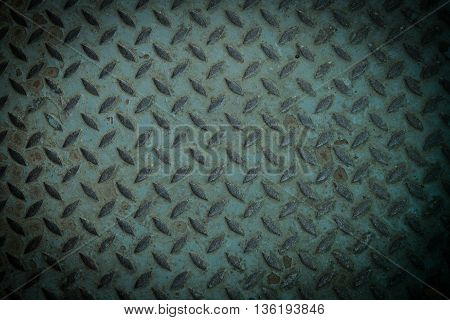 old metal diamond plate background closeup. metal, plate, steel