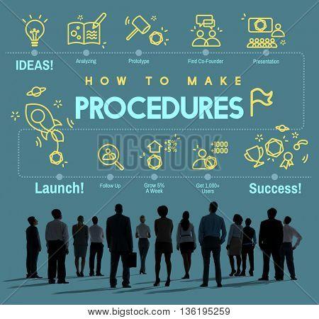 Procedures Action Approach Process Technique Concept