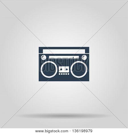 radio icon. Vector concept illustration for design.