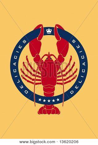 Emblema de la langosta