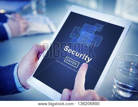 Security Online Website Web Page Internet Concept