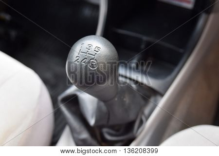 Car interior. manual transmission gear shift. interior, car, stick, manual,