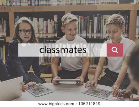 Classroom Classmate Lesson Education Knowledge School Concept