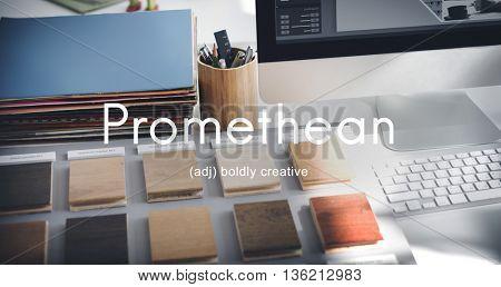 Promethean Creative Ideas Wisdom Intelligent Concept