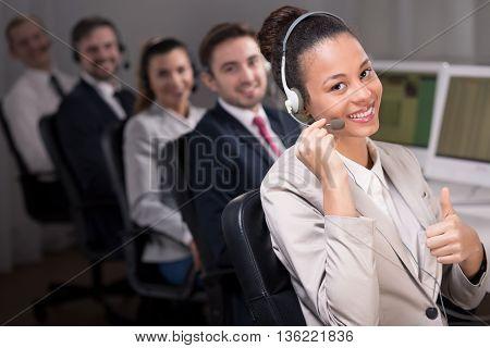 Perfect Service In Call Center