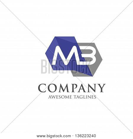 letter MB  logo style,creative letter MB, MB logo vector