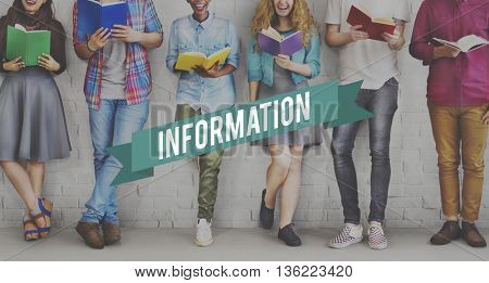 Information Data Facts Research Results Details Content Concept