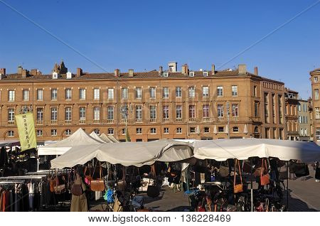 Building of the Le Capitole Square, Toulouse, France