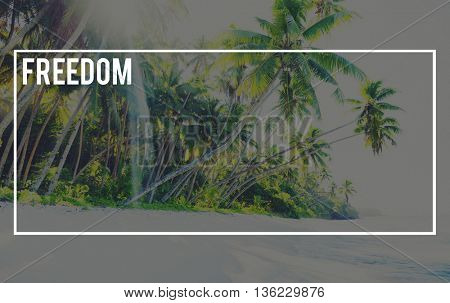 Freedom Nature Ecology Global Journey Concept