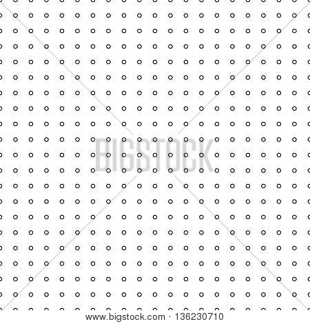 Circle ring seamless pattern. Fashion graphic background design. Modern stylish abstract texture. Monochrome template for prints textiles wrapping wallpaper website etc. VECTOR illustration