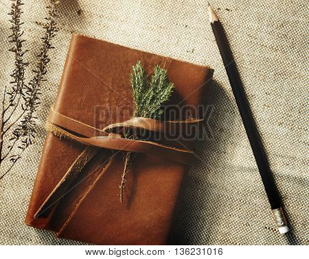 Book Decorating Flora Relaxation Blossom Fresh Concept
