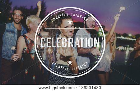 Celebration Enjoyment Event Happiness Concept