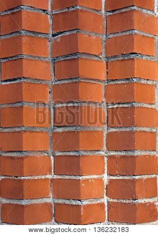 Abstract Color Brick Wall Texture.