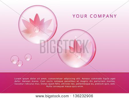 VECTOR BEAUTY BACKGROUND