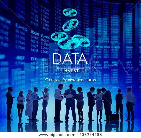 Data Analysis Information Technology Network Concept