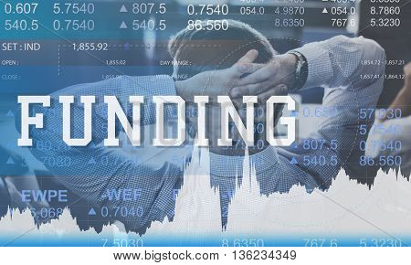 Funding Economy Investment Finance Fund Concept