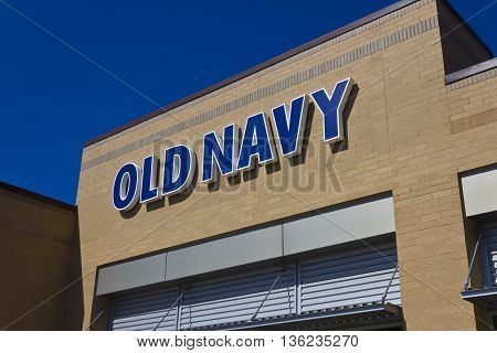 Indianapolis - Circa June 2016: Old Navy Retail Mall Location. Old Navy is a Division of Gap Inc. II