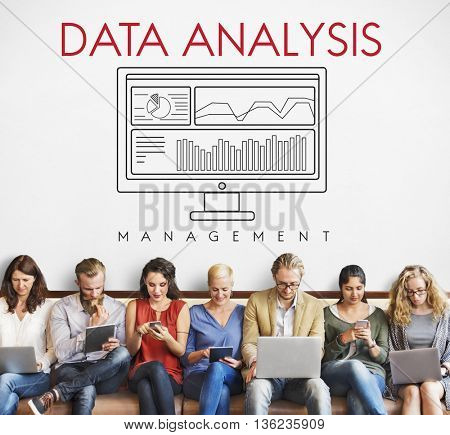 Data Analysis Analytics Business Statistics Concept