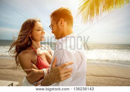 loving couple, romantic feelings, honeymoon